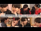 Eng Es PT Sub BTS Sweets Party in Harajuku Japan - EXTRACT (Occasional Zoom-in)