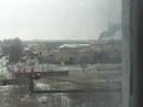 Обстрел Краматорска из РСЗО 10.02.15