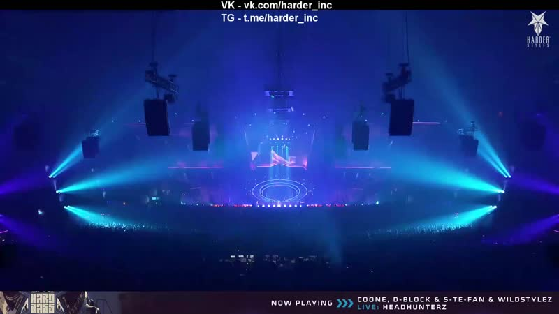 Coone, D-Block S-Te-Fan, Wildstylez - Live at Hard Bass 2019 - The Last Formation (Team Blue)