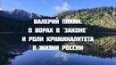 Семинар в Горном Алтае 18-27 июля 2018 г. Валерий Пякин. О ворах в законе и роли криминалитета