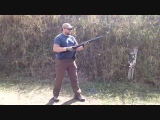 Escort Hatsan Shotgun Fast Shooting _ Скоростная стрельба из помпы Escort Hatsan ( 720 X 1280 ).mp4