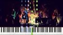 Coldplay - Viva La Vida (Piano Tutorial) [Synthesia]