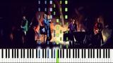 Coldplay - Viva La Vida (Piano Tutorial) Synthesia