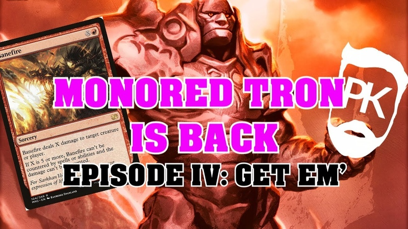 MONORED TRON IS BACK Competitive Build MTG Modern Deck Tech and Gameplay смотреть онлайн без регистрации