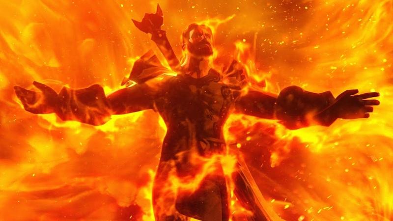 World of Warcraft Extinction Sargeras Sword Impact Cinematic End of Legion