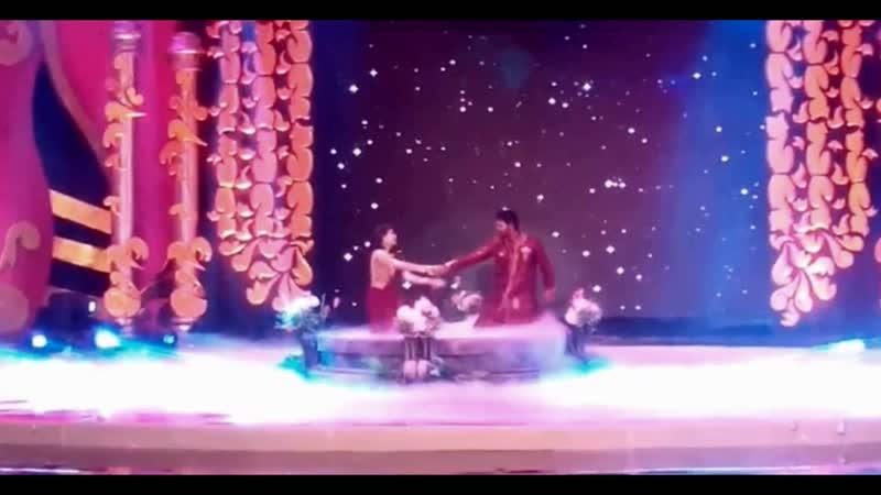 Фрагмент танца Абхи и Прагьи