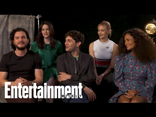 Kit Harington 'Always Wanted' To Be Harry Potter | TIFF 2018 | Entertainment Weekly