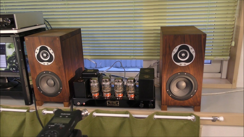 (新編集)KT88真空管アンプで聴く・スキャンスピーク・2WAYスピーカー(^^983