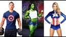 Cosplay Avengers 4 - GYM WORKOUT