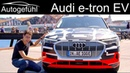 The first all electric Audi REVIEW Audi e tron Interior driving impression Autogefühl