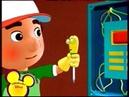 Fragment of Disney Playhouse block on Disney Channel Russia Oct, 2012