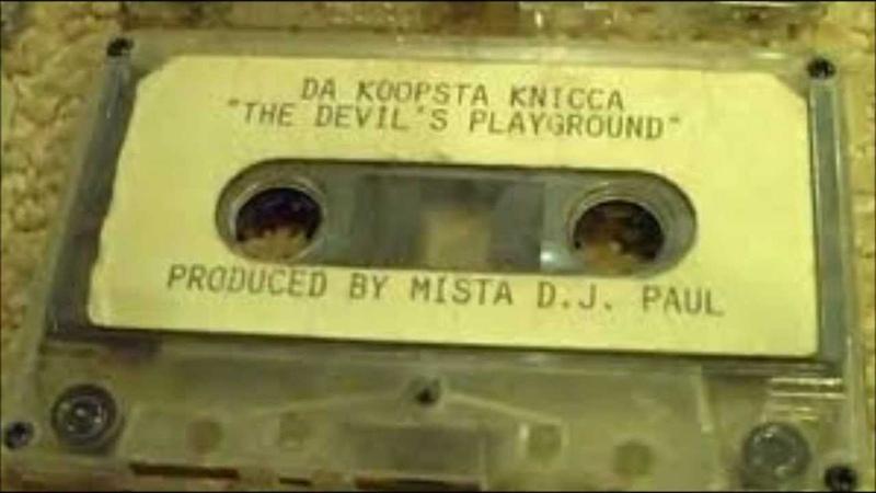 DJ Paul Koopsta Knicca - Crucifix (Original)