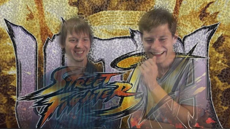 Большой орех и есть кокос Клоун и Диск проводят турнир по street fighter street fighter