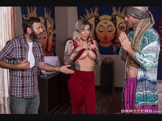 [BRAZZERS] Humping My Chakras - Karma Rx & Johnny Sins [2018, Blonde, Big Tits, Massage, Oil, Deep Throat, Face Fuck, 1080p]