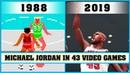 MICHAEL JORDAN, the evolution in Video Games [1988 - 2019]