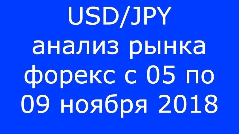 USD/JPY - Еженедельный Анализ Рынка Форекс c 05 по 09.11.2018. Анализ Форекс.