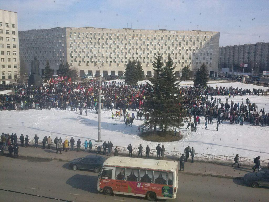 Бунт в Архангельске