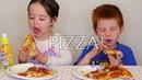 MukBang pizza eating show