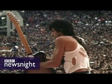 The Rolling Stones' Keith Richards on drugs &amp rock 'n' roll - Newsnight archives (1982)