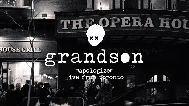 Grandson Apologize [OFFICIAL LIVE VIDEO]