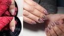 ГЕОМЕТРИЯ на ногтях Как исправить в бок растущий ноготок Комбинированный маникюр