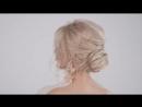 «Причёска на длинные волосы узелок»