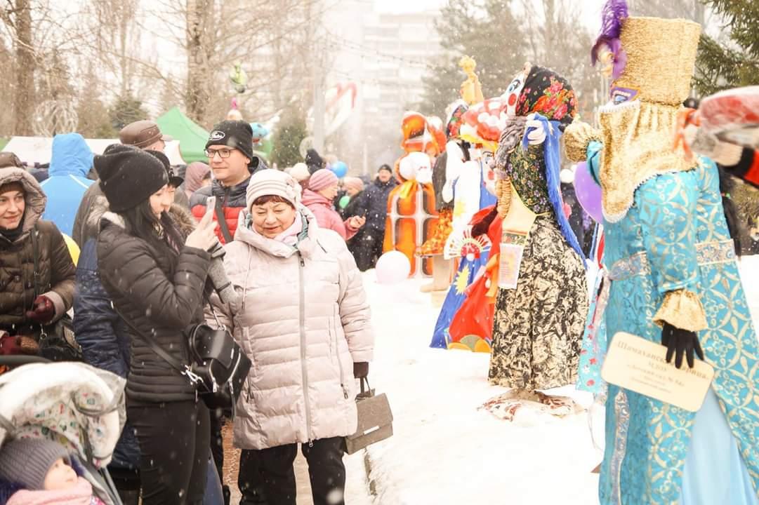 Масленица 2019 в Дзержинском районе города Ярославля