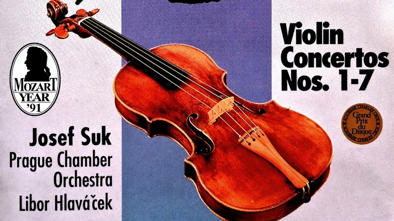 Mozart - The Violin Concertos n°1,2,3,4,5,6,7 (recording of the Century Josef SukHlaváček)