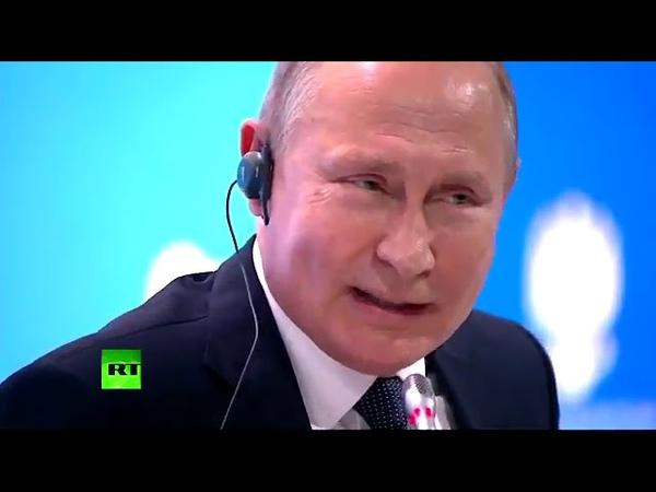 Путин Было бы хорошо если бы те кто хочет ввести санкции к России ввели бы все санкции