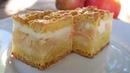 Яблочный пирог тает во рту Вкусный пирог с яблоками рецепт