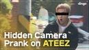 Hidden Camera Pranks on KPOP Idols ft ATEEZ ENG SUB dingo kdrama