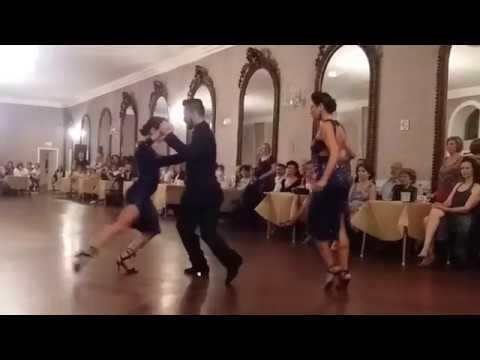 Javier, Moira e Fátima - Milonga de Gala de Volver 2018.