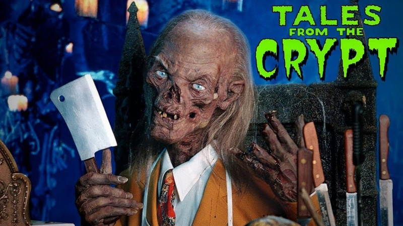 Заставка к сериалу Байки из склепа Tales From The Crypt Opening Credits