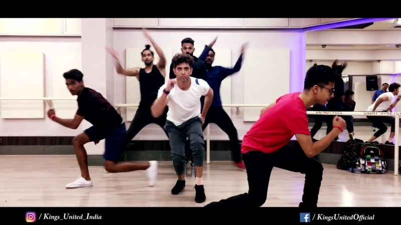 Hrithik Roshan Amazing Dance KINGS UNITED HRX Behind the scenes