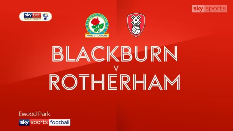 «Блэкберн Роверс» - «Ротерем Юнайтед» 1:1 (Sky Sports)