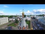 Тёплый и уютный летний Ярославль. Столица Золотого кольца России.Съемка_с_квадрокоптера.