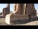 Западные Фивы Колоссы Мемнона Экспедиция ЛАИ 2011