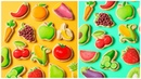 EMOJI COOKIES PART 2! Fruits and Vegetables