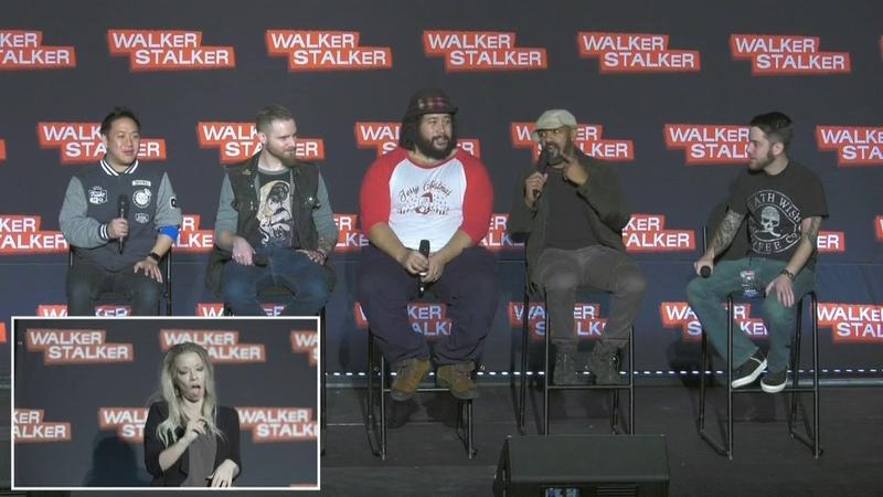 The Walking Dead : Cooper Andrews Khary Payton WSC NJ 2018