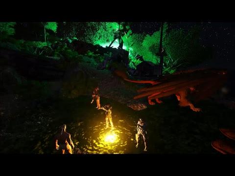 ARK: Survival Evolved - Сходили на лавового голема ARK-Krasnoyarsk