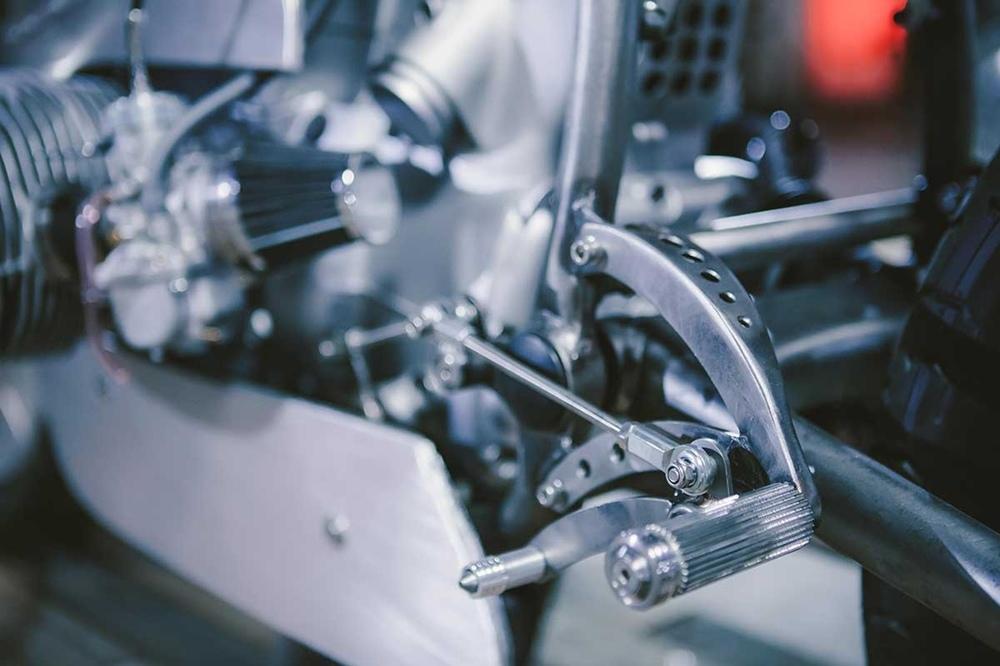 Kott Motorcycles: кафе рейсер BMW R80 Exodus