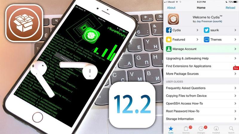 How to Jailbreak iOS 12 - 12.1.4 - 12.2 new LiberiOS Cydia Patch!
