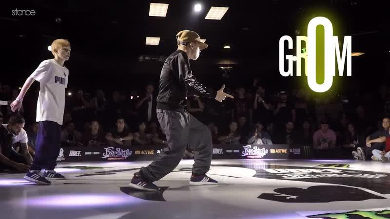 Bboy Grom (Outstanding Crew) the face of Upgradez