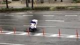 В Японии доставщик пиццы боролся с порывами ветра 172 км/ч. Проиграл.