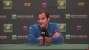 Rodger Federer Post-Finals Press Conference at the BNP Paribas Open
