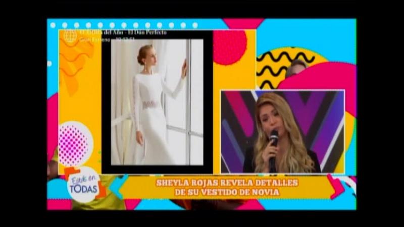 Sheyla Rojas revela detalles de su vestido de novia