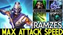 Ramzes [Anti Mage] Max Attack Speed VS Brood Mid 7.20 Dota 2