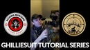 Airsoft Sniper - Ghillie Suit Tutorial Series. Video 1: Webbing and Raffia