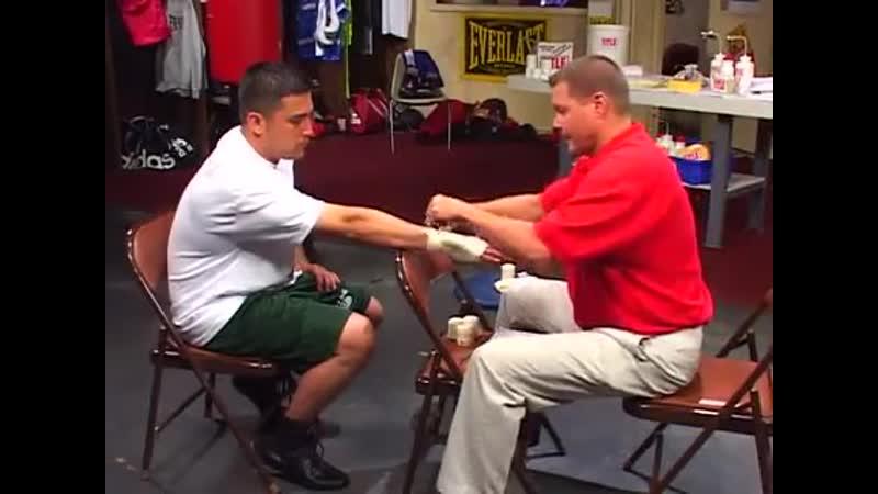 Урок бокса №3 Как бинтовать руки для тренировок и соревнований