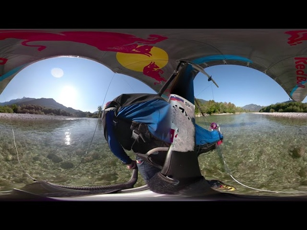 Jet hang gliding VR 360